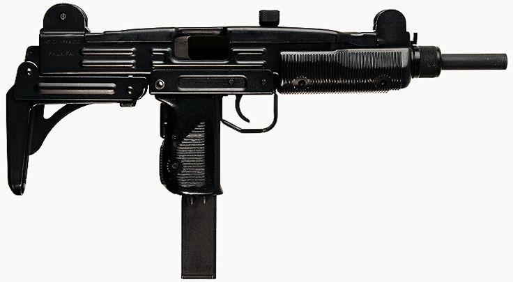 IMI Uzi with buttstock collapsed - 9x19mm - Submachine Gun / Machine Pistol