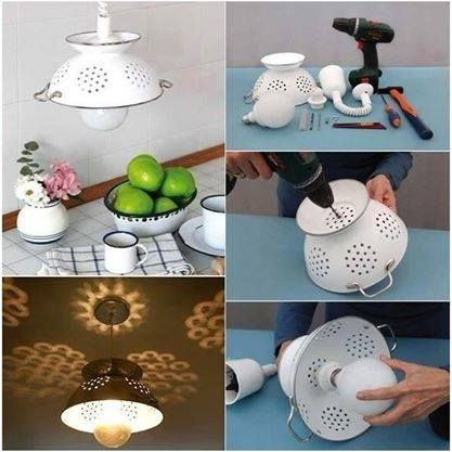 ms de ideas increbles sobre luz colador en pinterest lmparas rsticas ideas de iluminacin y luces de botella