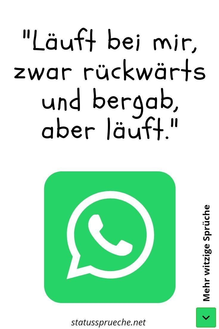 Lustige Whatsapp Status Spruche