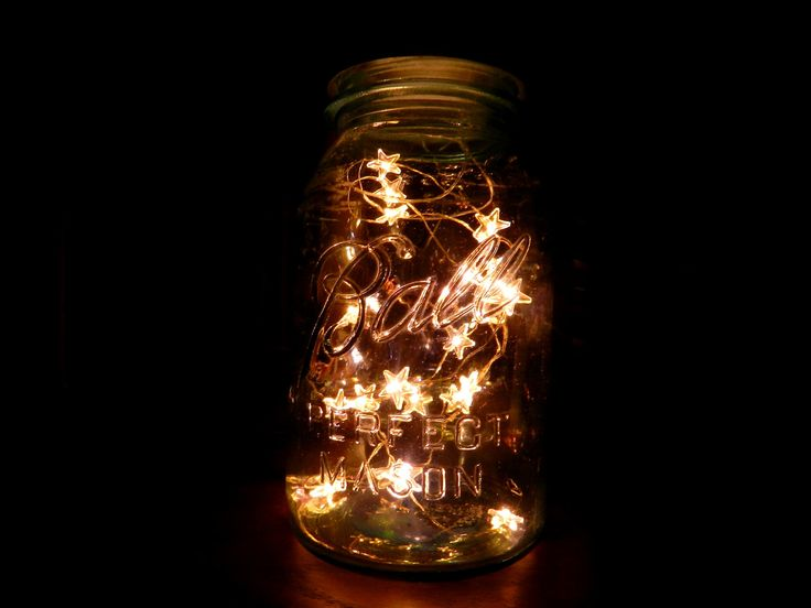with twinkle stars by glitterandmasonjars mason jar twinkle lights. Black Bedroom Furniture Sets. Home Design Ideas
