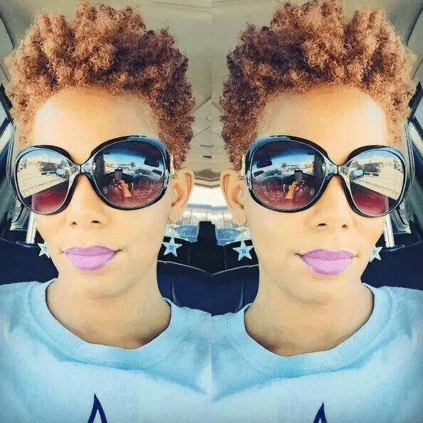 Short Tapered Natural Hairstyles For Thin Hair Line