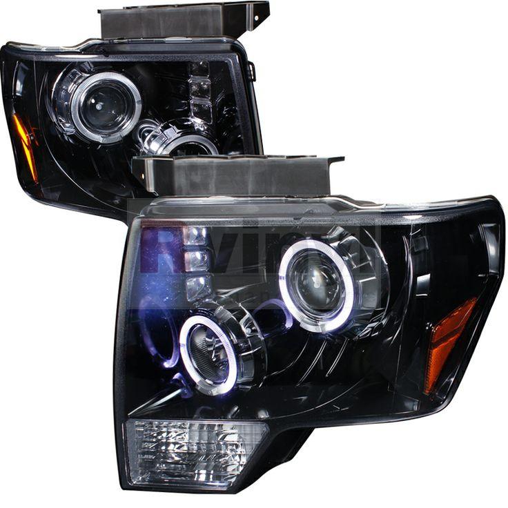 2009 Ford F-150 Aftermarket Headlights