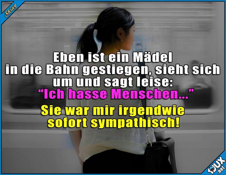 Sofort sympathisch! :P #Menschen #nurSpaß #Humor #lustig #Sprüche #lustigeSprüche #Jodel