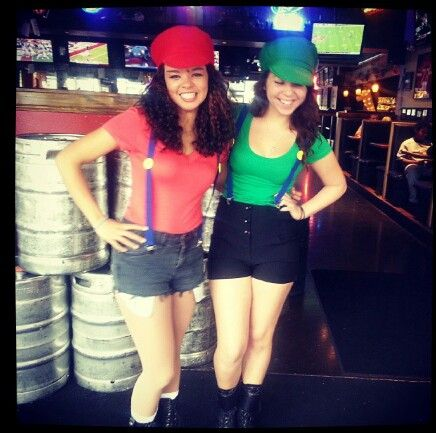 mario and luigi girl costumes master of disguise