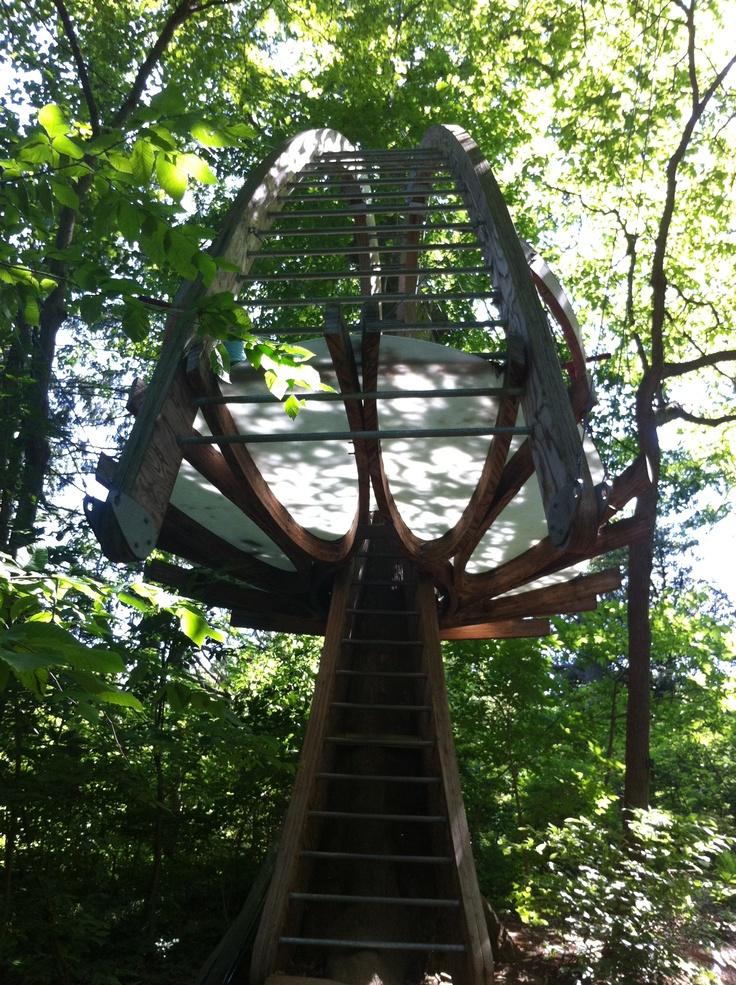 Tree house at Tyler Arboretum