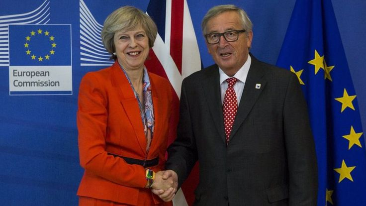 May to tell Jean-Claude Juncker Brexit plans not derailed by court - BBC News