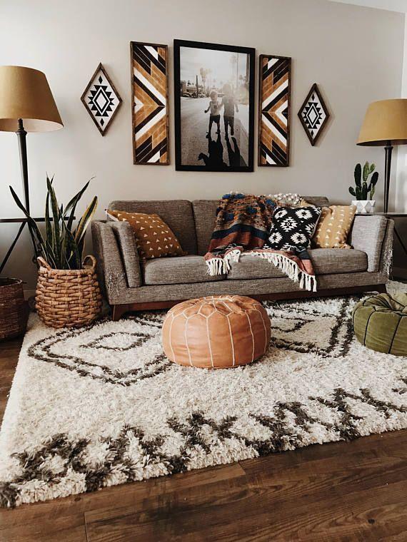 How To Illuminate With White Interior Design Ideas Bohemian Living Room Decor Living Room Scandinavian Rustic Living Room