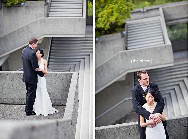 SFU Diamond Alumni Centre Wedding by Daniel[H], via Flickr