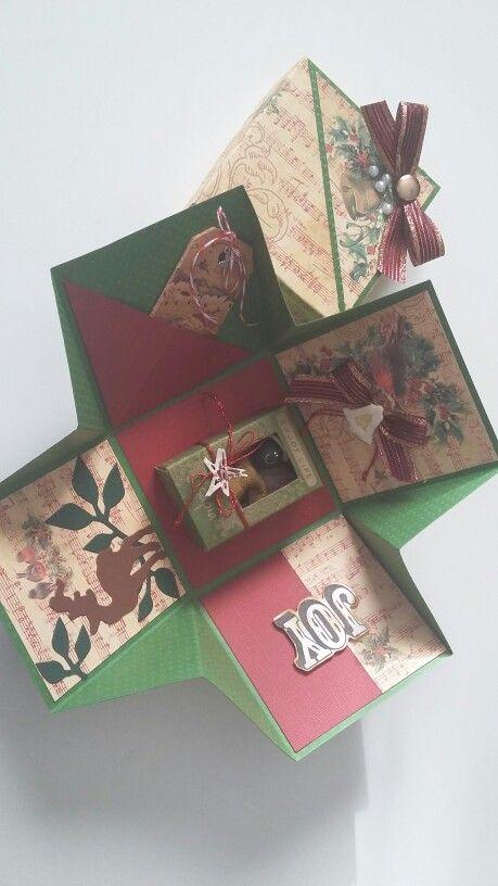 Explosion box natalizia