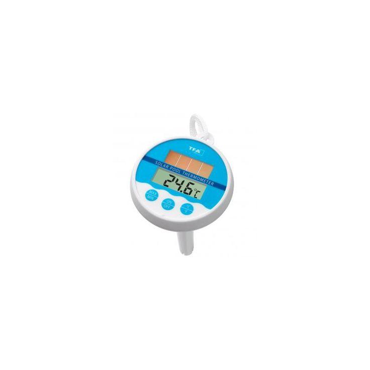 Termometro piscina tfa panel solar