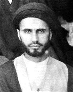 Young Rouhollah Khomeini later known as Ayatollah Khomeini, key figure in the Iranian revolution which led to the establishment of Islamic Republic of Iran, of which he became Supreme Leader (Vali-e Faqueeh).