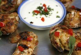 Alitas de Pollo con Marinada Italiana
