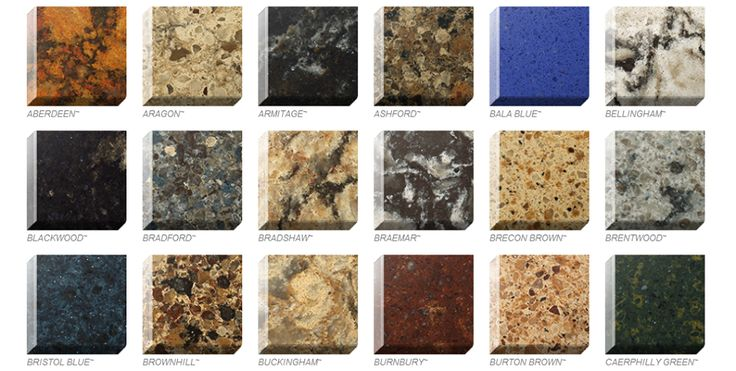 Quartz Countertops Come In A Wide Variety Of Colors And