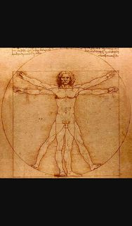 Academia do cérebro : O homem Vitruviano ( o desenho mais famoso do mund...