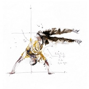 Technical Break Dance Illustrations by Florian Nicolle