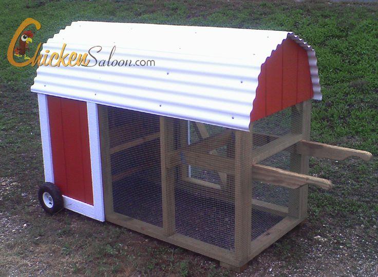 Best 25 chicken tractors ideas on pinterest mobile for Maintenance free chicken coop