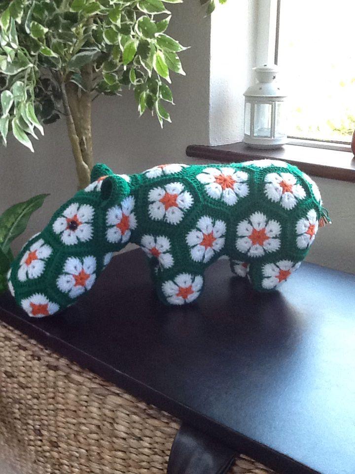 St. Patrick's hippo