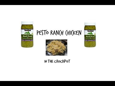 Nice pesto ranch chicken in the crockpot #tastytuesday #Recipes  #cooking  #cook  #kitchen