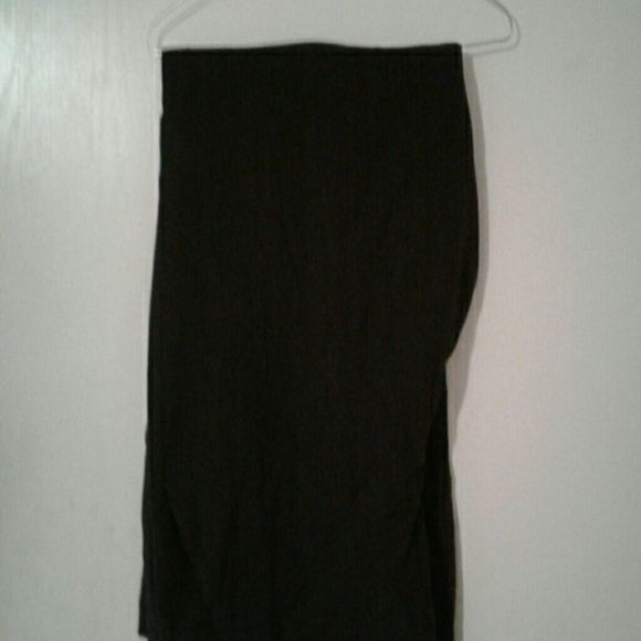 I just added this to my closet on Poshmark: Charcoal grey dress trousers ?? comfy, wide leg.  Size: 20