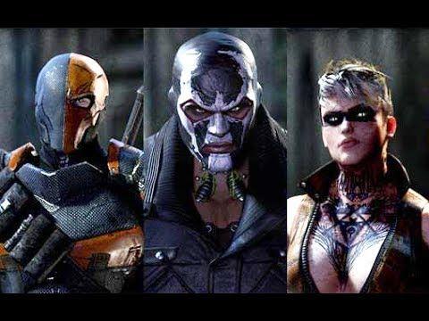 Batman Arkham Origins All 8 Assassins FULL Boss Battle Fight - Gameplay