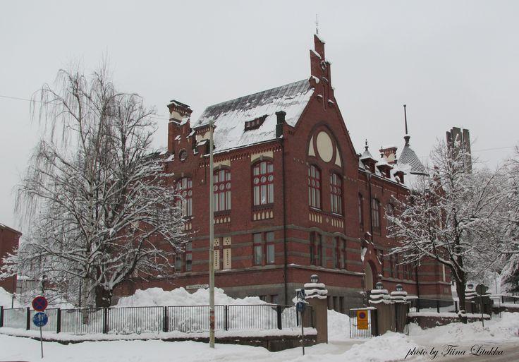 old school in Lahti, Finland