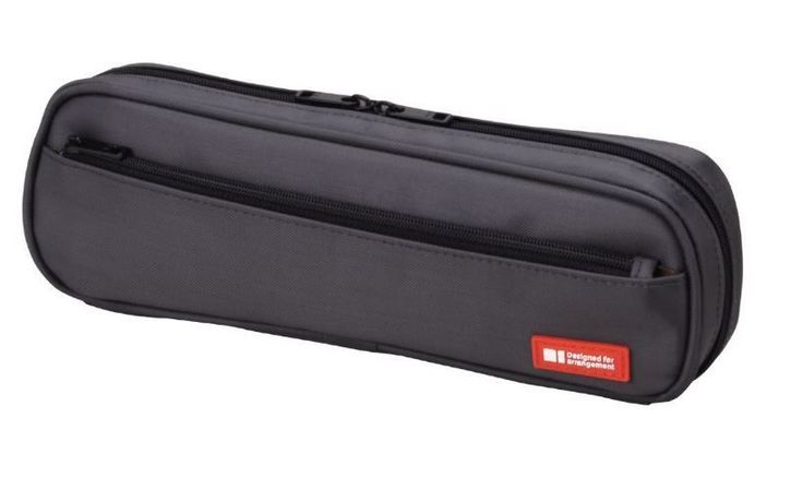 New Lihit Lab Teffa Pen Case Black A7552-24 2way type Japan