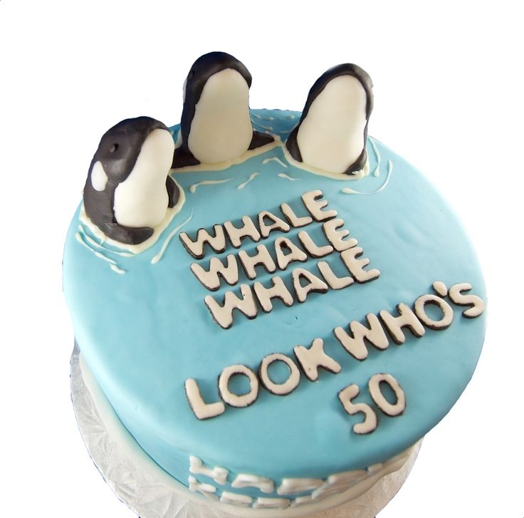 Whale, Whale, Whale modelling chocolate toppers