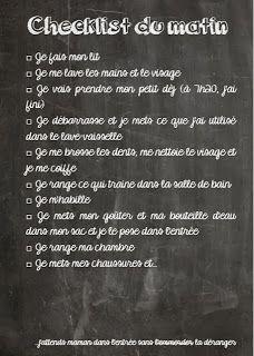Des listes pour s'organiser par petits-canaillous.fr