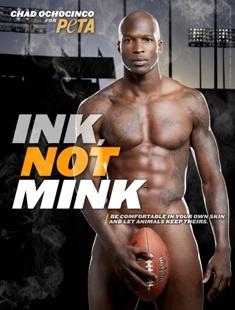 Chad Ochocinco Chooses 'Ink, Not Mink'