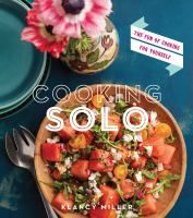 Collects one hundred simple, quick recipes designed for single-diner meals, eliminating the need for scaling down ingredients, including such options as Tahitian noodle sandwich, smoked duck breast salad, and mackerel with lemon and capers.