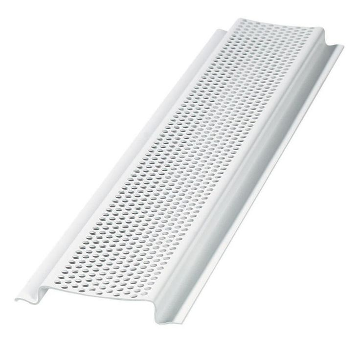 Air Vent Inc 96 In L White Aluminum Soffit Vent Vented Aluminum Air Vent