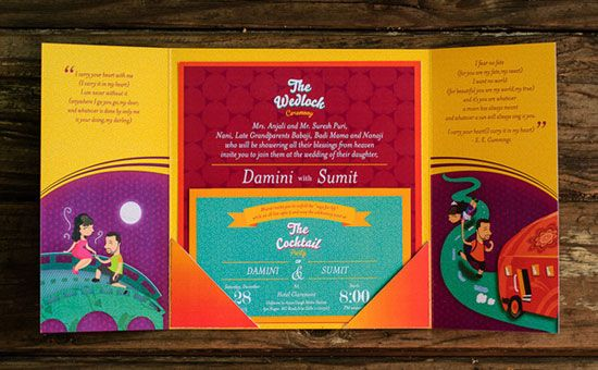 Illustration Much Info & Review | Wedding Invites in Bangalore | Wedmegood