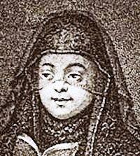 Первая жена Петра I Евдокия Лопухина (в монастыре).