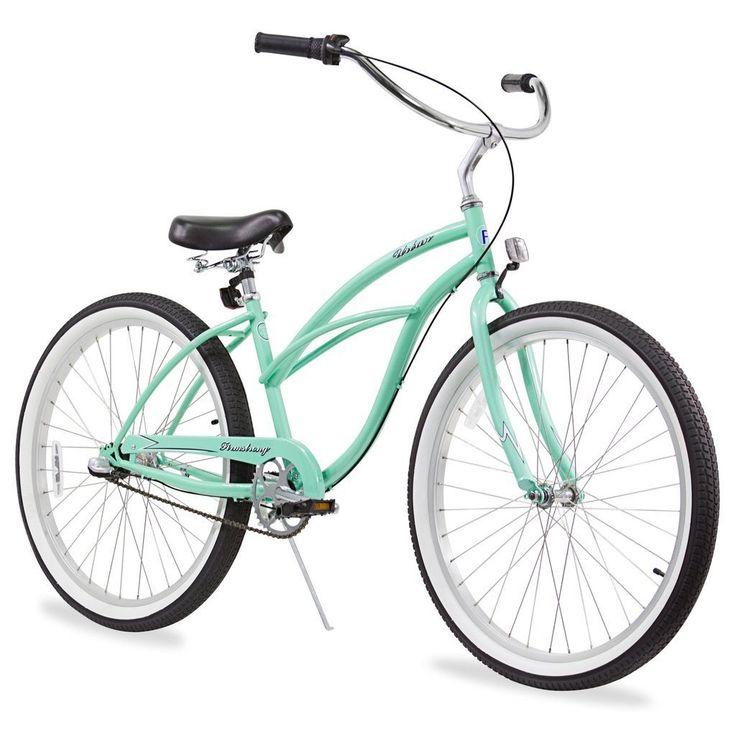 "26"" Firmstrong Urban Lady Three Speed Women's Beach Cruiser Bike, Mint"