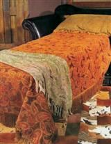 BARCELONA BLACK LEATHER SLEEPER CHAIR