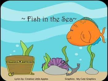 51 best images about fishy and water songs on pinterest for Little fish song