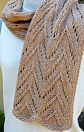 Ravelry: Manchester Scarf pattern by Laura Cunitz free knitting pattern, aran wt yarn
