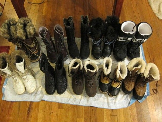 Video review of winter boots for women with a comparison chart. Might consider the Ugg Adirondack II because of this.