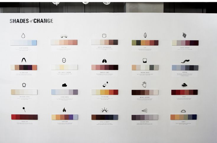 Shades of Change by Marin Dearie: Graphic Design, Shades, Colors, Art, Popular Culture, Minimalist Poster