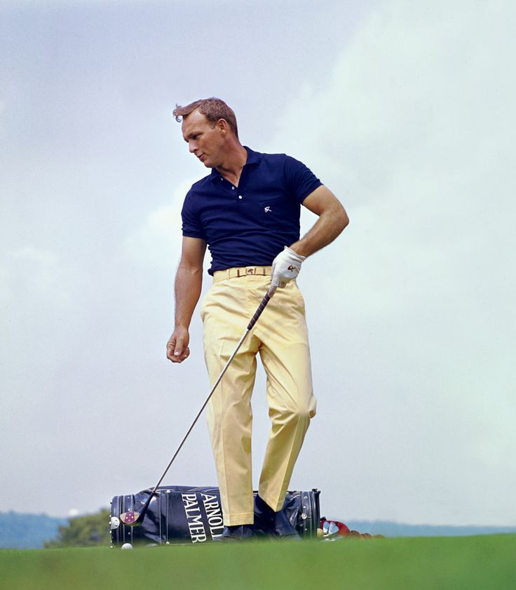 Arnold Palmer, the King, in his prime