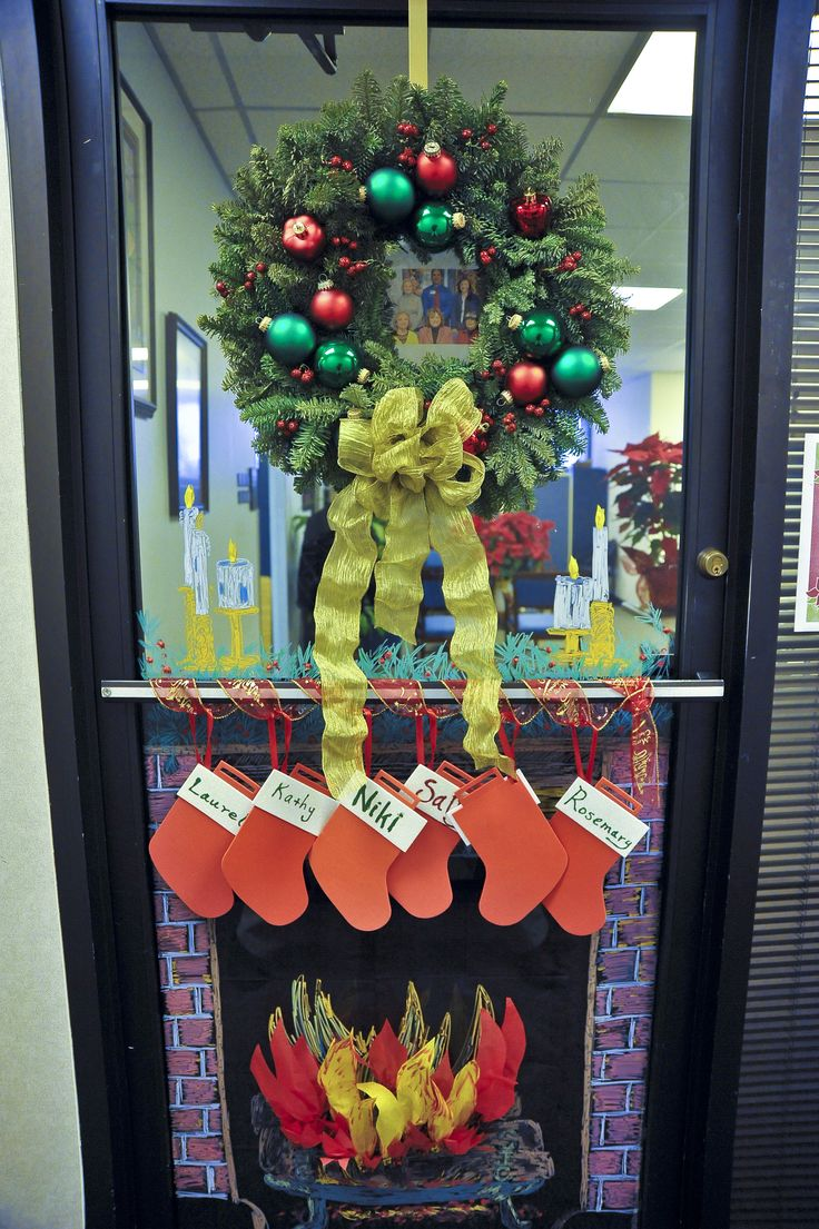 Christmas door decorations ideas for the office - Office Christmas Door Decorating Ideas Bing Images