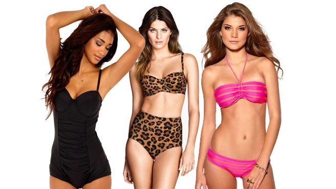 Kesän upeat bikinit ja uimapuvut