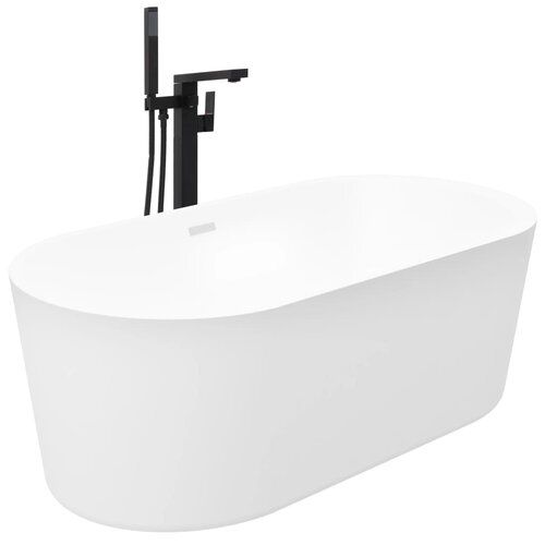 duncombe 1700 mm x 800 mm straight double ended bathtub