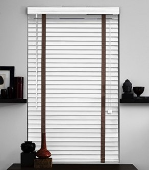 White Blinds Tape And Curtains On Pinterest