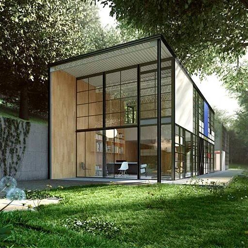Eames house!