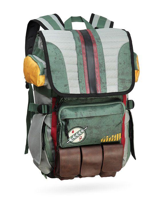 Boba Fett Mandalorian Armor Backpack Is A Traveling Bounty Hunter's Best Friend For All Your Weapons -  #bobafett #school #starwars