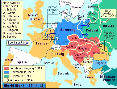 The map of europe changed after the signing of the treaty of paris the map of europe changed after the signing of the treaty of paris boundaries changed and many new nations were created world war i pinterest gumiabroncs Image collections