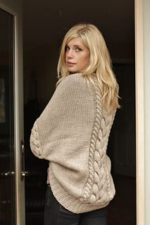Love this cabled shrug! Looks like a must have for a walk in the woods!