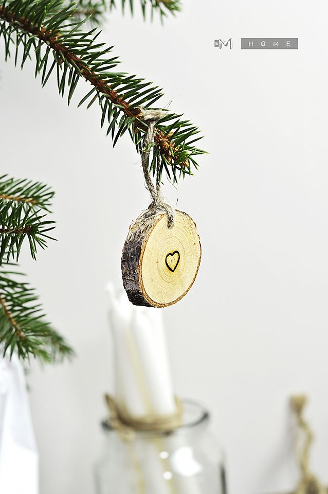 Wooden pad, Christmas decoration
