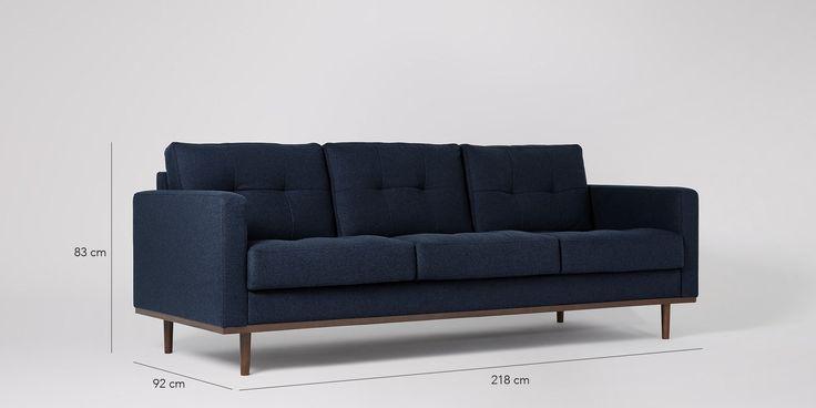 Berlin Three-seater Sofa | Swoon Editions